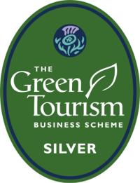 Green Tourism silver award badge