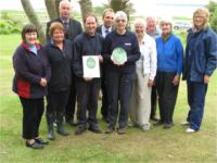 Green Tourism silver award presentation