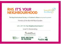 It's your neighbourhood Outstanding achievement 2011