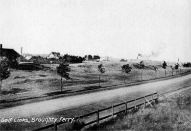 An early postcard of Barnhill golf course
